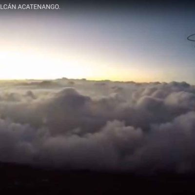 Vuelo en Parapente desde Volcán Acatenango